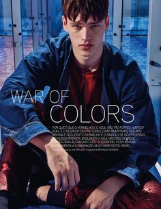 War Of Colors (GQ Portugal)
