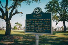 Biloxi Historic Sign
