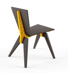 Designer chair Voca design CNC, plywood