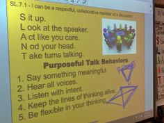 Life in 4B...: SL.7.1 - Fishbowl Discussion Activity