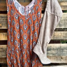 We love this cute outfit for fall