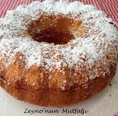 ::: Zeyno'nun Mutfağı :::.: Nişastalı Kek (Unsuz ve Sütsüz)