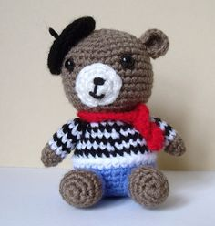 Pierre the french bear, via Flickr.