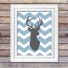 Deer 8x10 Print Deer Nursery Hunting by AugustBloomDesigns, $12.95
