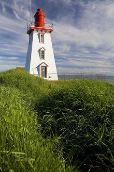 Souris Harbour Lighthouse, Souris, Prince Edward Island, Canada