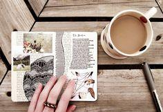 Cuaderno, café, bolígrafo, mesa de madera y... ¡A escribir! http://on.fb.me/1AL03iI