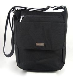 Women's Cross-Body Handbags - Baggallini Town Bagg Special Edition CrossbodyShoulder Bag Black -- Click image to review more details.