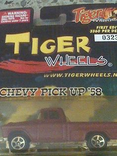 CHEVY PICK UP 58 - 1:64 - Tiger Wheels
