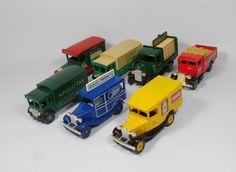 Corgi - Lledo - X 7 - Die-Cast Vintage Trucks - Joblot - Bundle - Vintage Trucks, Diecast, Corgi, Ebay, Corgis