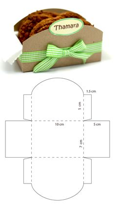 Diy Geschenk Basteln Caja para galletas - Diy Geschenk Basteln Caja para galletas You are in the right place about diy projects Here we offe - Diy Paper, Paper Crafts, Foam Crafts, Cookie Packaging, Box Patterns, Diy Gift Box, Cookie Box, Diy Crafts For Gifts, Gift Baskets