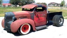 pictures of rat rod trucks Dually Trucks, Hot Rod Trucks, Diesel Trucks, Cool Trucks, Chevy Trucks, Pickup Trucks, Truck Drivers, Chevy Pickups, Pick Up