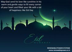 #Renewablepowersystemsdelhi wishes #Eidmubarak