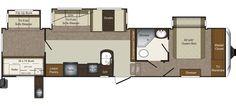 Keystone RV 335TG floorplan