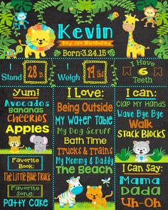 jungle theme birthday jungle first birthday jungle by InJOYPrints
