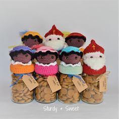 Crochet Jar Covers, Dutch Recipes, Saint Nicholas, Holiday, Christmas, Baby Shower, Diy Crafts, Sweet, Blog