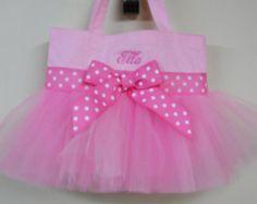 Princess party gift. Toddler tote bag, tutu tote bag, Ballet bag, Embroidered Dance Bag, Naptime 21, Personalized MINI Ballet Bag MTB849 BP