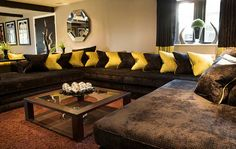 Love this huge couch!