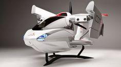 ICON Design Two Seater Personal Seaplane Concept