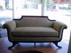Duncan Phyfe Settee--I have always loved Duncan Phyfe