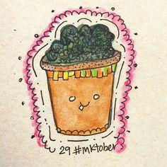 #inktober Day 29 • Maceta :)