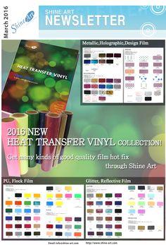 Heat Transfer Vinyl  get in one click >> http://www.shineartmall.com/ ask information >> info@shine-art.com