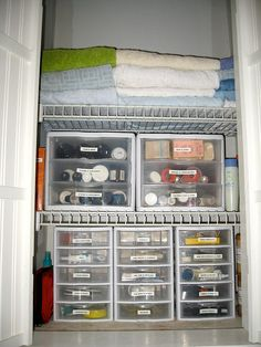Your dorm will seem ALOT bigger if you keep it organized!