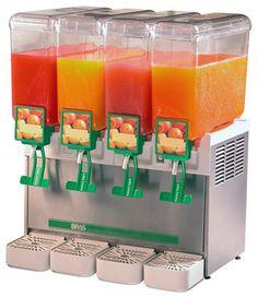 Refresqueira Compact 4.8 110 Volts - Brás Sucos, refrescos e outras bebidas<br />Maior capacidade do mercado!<br />• 4 cubas com capacidade de 8 litros cada.<br />• Lançamento: Nova tecnologia de sistema de refrigeração por placa fria plana. Muito mais eficiente do que as refresqueiras tradicionais, refrigerando até o último copo!<br />• Sistema de travamento da cuba em 3 pontos com maior estabilidade.<br />• Sistema de refrigeração com funcionamento automático, com 2 termostatos…
