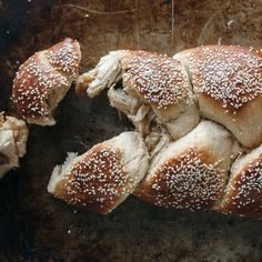 Learn to make this sesame-rich, halvah-stuffed challah at Food & Wine.