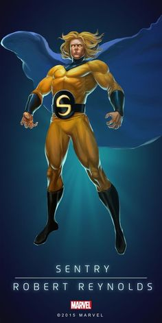 Marvel Puzzle Quest Sentry
