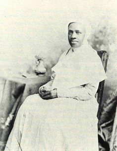 """Rebecca Jackson (1795 - 1871) a black uneducated married woman, became a visionary in the Shaker Church and with her disciple Rebecca Perot (seen here) established the only urban Shaker community in Philadelphia, PA which was also the only predominantly black community in Shaker history. Read more about her story, Rebecca Perot and the Philadelphia Shakers at www.shakerml.org/exhibitions. """"Celebrating National Women's History Month: A Shaker Sketchbook"""" Shaker Museum 