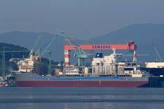 Samsung Heavy Industries Shipbuilding (Geoje, South Korea)