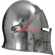 Visored Barbuta Helmet - MCI-2428 from Dark Knight Armoury