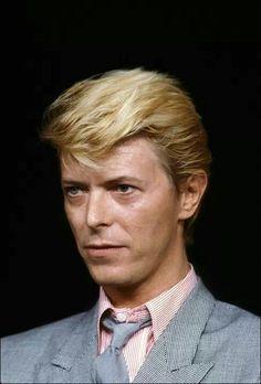 David Bowie, 1983. Photo by Denis O'Regan.