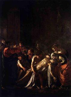 The Raising of Lazarus, Caravaggio — Bestarts.org