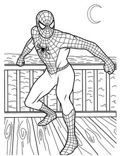 Spiderman Coloring Pages Printable . 24 Spiderman Coloring Pages Printable . the Amazing Spider Man Coloring Pages Spiderman Color Avengers Coloring Pages, Spiderman Coloring, Superhero Coloring Pages, Marvel Coloring, Boy Coloring, Birthday Coloring Pages, Pokemon Coloring Pages, Coloring Pages For Boys, Online Coloring Pages