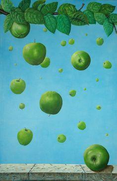 """Saatchi Online Artist: Elsa Jacob Moosbrugger; """"Newtons Garden"""""""