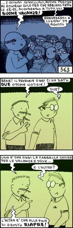 #nove-diciotto, #fumetti, #alberto baroni, #vignette, #lavoro, #ufficio, #fabbrica, #umorismo, #ferie Nova, Banner, Map, Banner Stands, Location Map, Maps, Banners