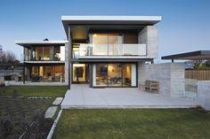 Fendalton House - Contemporary Industrial style, Concrete, steel, wood