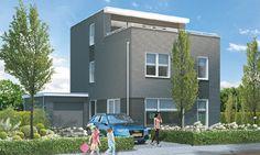 Moderne woning met dakterras K10 | Kuin BV