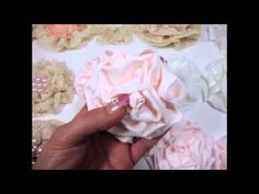 how to make the vintage flowers