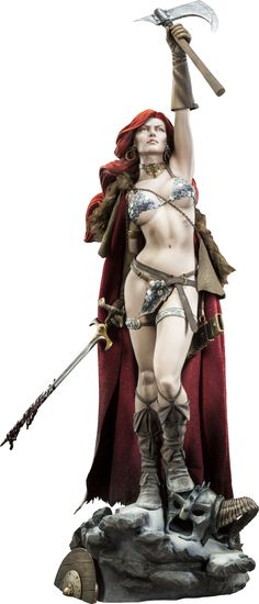 """Red Sonja - 27"""" Premium Format Figure by Sideshow Collectibles"""