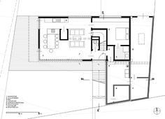 WERK - g.a group of young architects Interior Exterior, Interior Architecture, Modern Floor Plans, Mountain Cottage, Steel House, Steel Buildings, Architectural Digest, Modern Contemporary, Modern Farmhouse