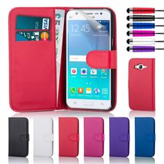 Samsung Galaxy J5 (2016) Leather Book Wallet Case - 32ndShop