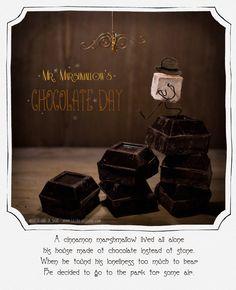 http://lechatdesucre.com/blog  marshmallows and chocolate