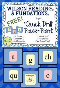 Updated Fundations Alphabet Chart Freebie Graphics Change And