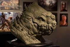 Best of Term Fall 2013 – Sculpture. Student Work by Erik Ortiz. Human Sculpture, Sculpture Clay, Oil Based Clay, Reptile Skin, Creature Design, Zbrush, Mythical Creatures, Reptiles, Fantasy Art