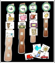 Thanks for checking out my Paint Stick Sounds for Short Vowel Sounds!! You can also use the pieces in a matching notebook! Be sure to download the preview for your free worksheet and a better look at the pack! #tpt