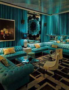 (1) Fancy - Caroline Maguire Designs: The Ivy Bar Sydney