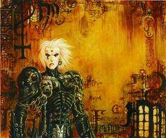 Requiem Vampire Knight ©Olivier Ledroit.  See more... http://lilywight.com/2013/10/22/the-art-of-requiem-vampire-knight/