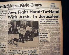 unscop arab israeli paper View this thesis on arab-israeli war 1948 the war the israeli war for independence has really never come to an end te issues in the conflict remain not only.
